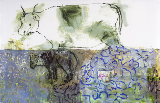 , 'Cat and Cow,' 2019, Valley House Gallery & Sculpture Garden