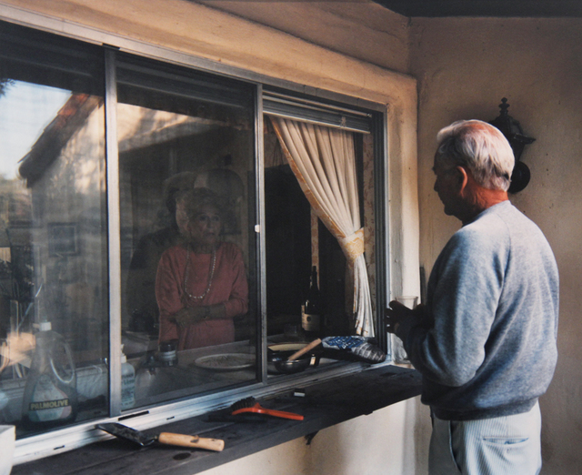 "Larry Sultan, 'Conversation through Kitchen Window (from ""Pictures from Home"")', 1986, ClampArt"