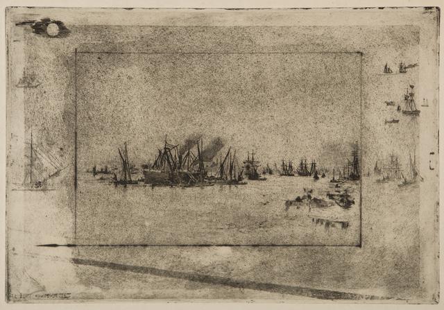 , 'Le Port aux mouettes,' 1886, Childs Gallery