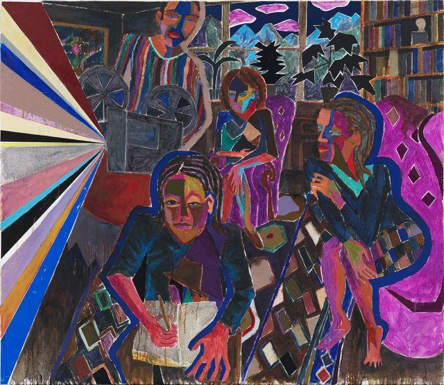 , 'Die unsichtbaren Schichten,' 2015, Meyer Riegger