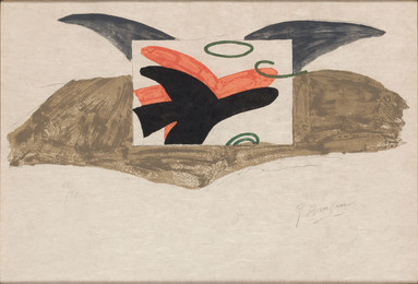 Affiche Pour L'Exposition Georges Braque--René Char (V. 185)