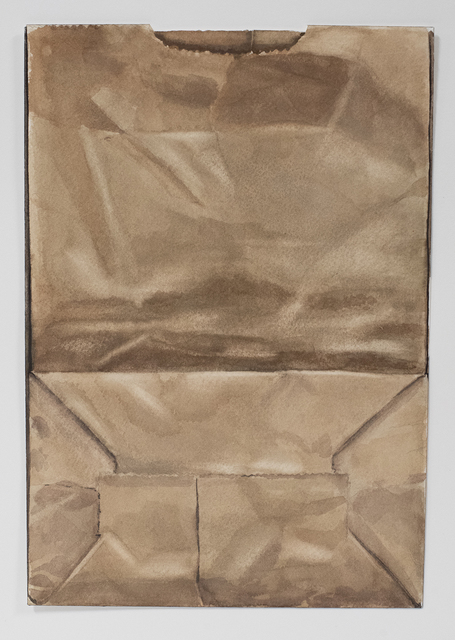 Brad Nelson, 'Paper Bag From A Grocery Store In Curacao', 2019, Painting, Gouache on paper, FROSCH&CO