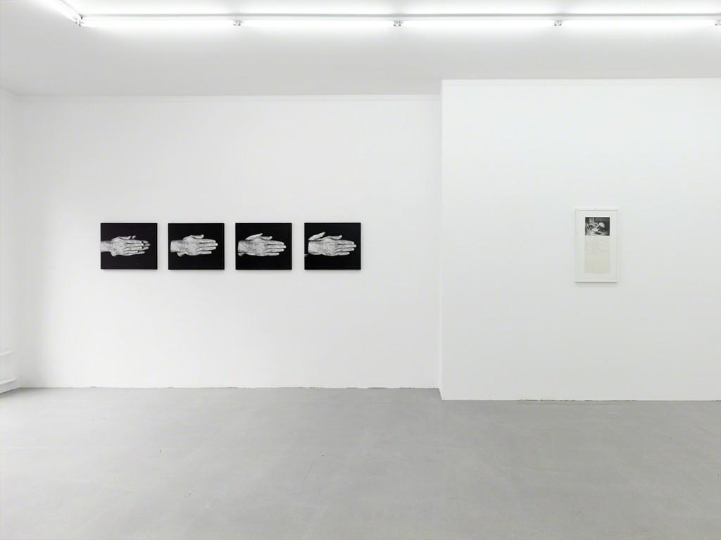 installation view, Kadel Willborn, Düsseldorf, Germany, 2014