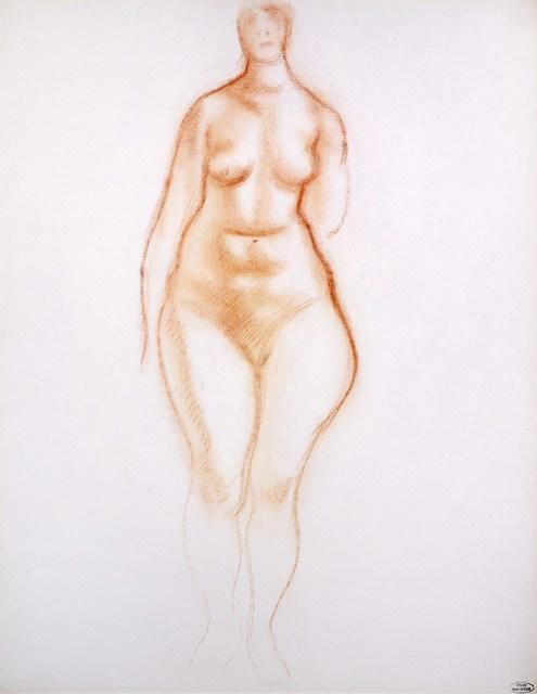 , 'Femme debout de face,' ca. 1948, Galerie Maeght