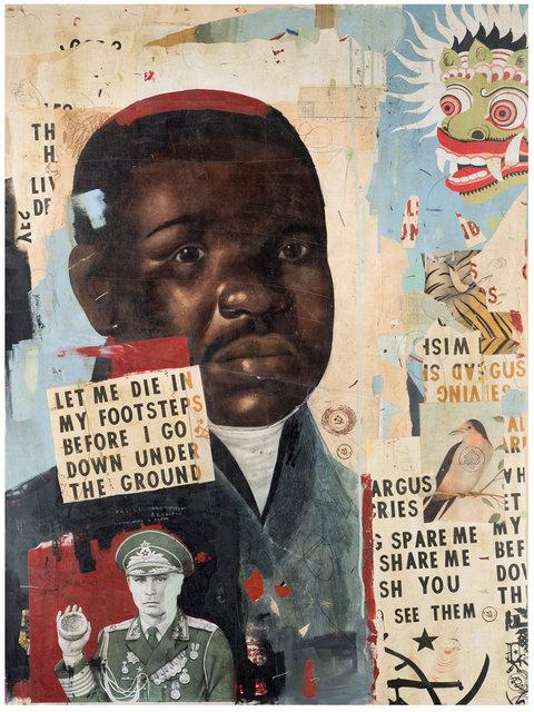 , 'Let Me Die In My Footsteps,' 2015, Black Book Gallery
