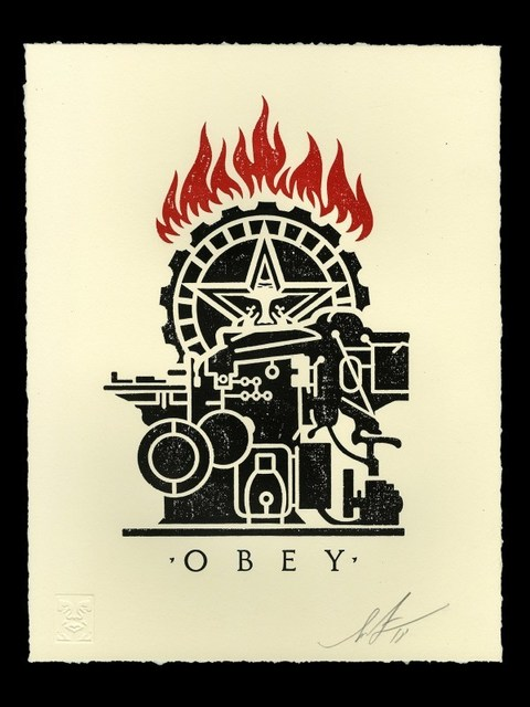 Shepard Fairey (OBEY), 'Obey Printing Press', 2018, Dope! Gallery