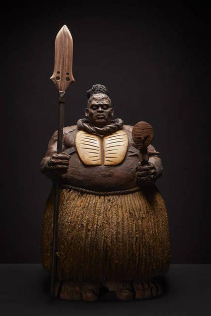 Matteo Pugliese, 'Namibian Guardian - Himba', 2019, Liquid Art System