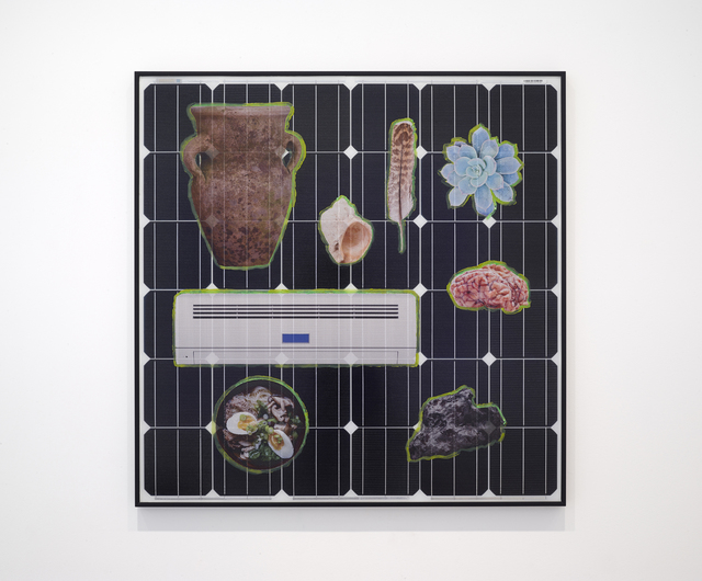 , 'shapes of the earth,' 2015, Inman Gallery