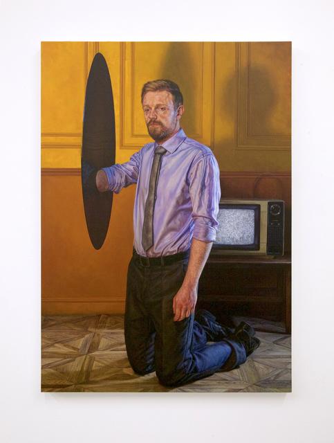 , 'Black Hole II,' 2016, Jonathan LeVine Projects