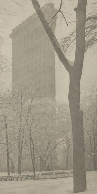 Alfred Stieglitz, 'The Flatiron', 1903-printed no later than 1910, Photography, Large-format photogravure, Phillips