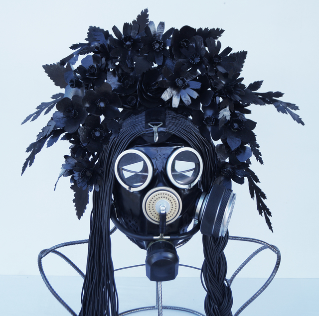 ", 'Kokosnik - Gas Mask ""Rubber Primrose"",' 2016, 11.12 Gallery"