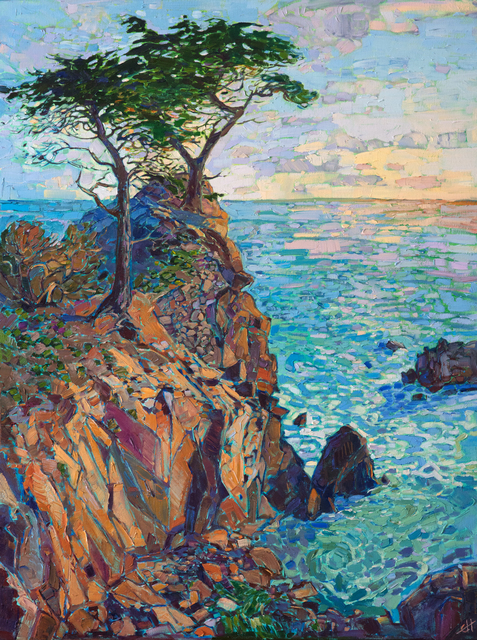 , 'Cypress at Dawn,' 2017, The Erin Hanson Gallery