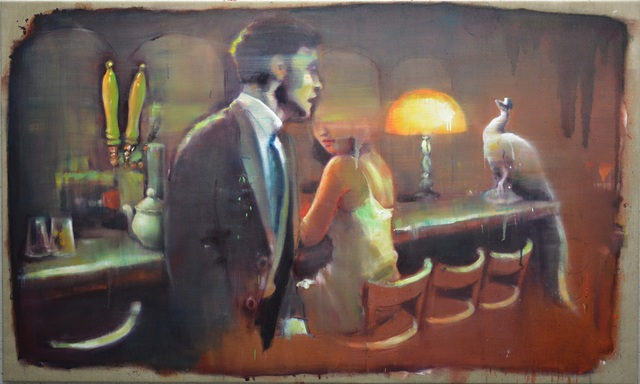 , 'At the Peacock bar,' 2016, Light Cube Art Gallery