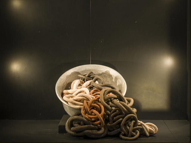 Almuth Tebbenhoff, 'Who Will Buy My Dark Dark World: The Slaughterhouse', 2020, Sculpture, Ceramic, Pangolin London