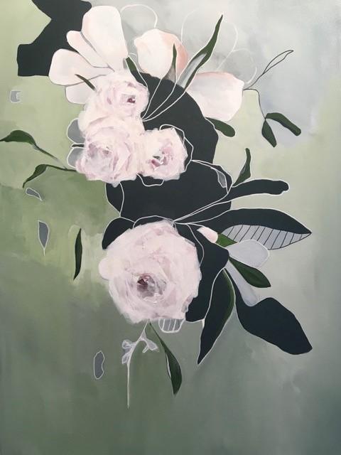Virginie Bocaert, 'Be yourself', 2019, Painting, Acrylic on canvas, Thompson Landry Gallery