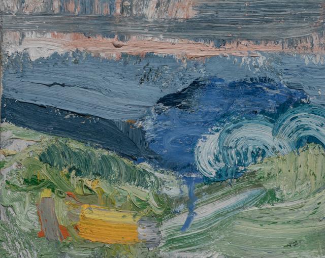 , 'Beach Terrain: Wave,' 2017, Paul Thiebaud Gallery