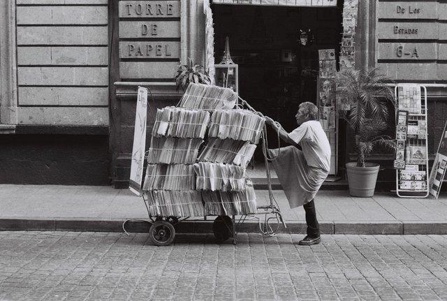 , 'Torre de papel,' 2015, gil | zarate