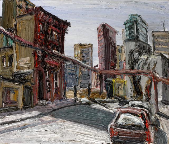 Christopher Lehmpfuhl, 'Hinter Dem Potsdamer Platz', 2010, GALERIE URS REICHLIN