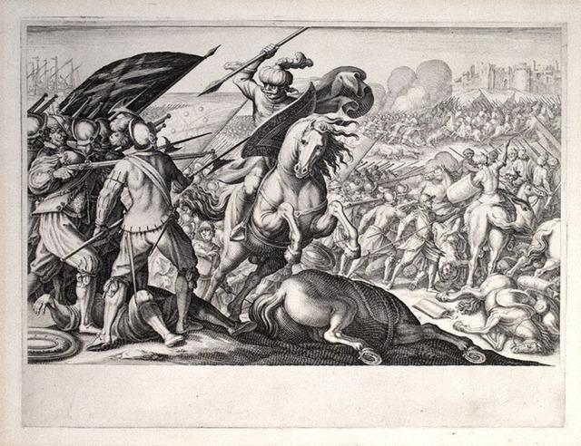 , 'Défaite de la cavalerie Turque (1st State),' 1614-1620, R. S. Johnson Fine Art