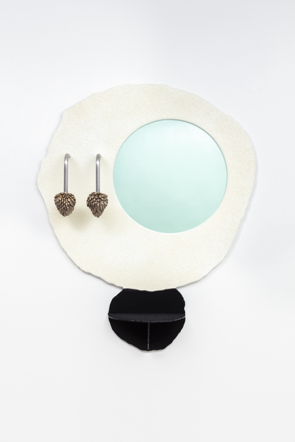 , 'White Moon Mirror,' 2018, Friedman Benda