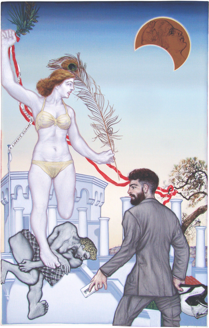 , 'La Liberte Guidant le Peuple,' 2015, Kalfayan Galleries