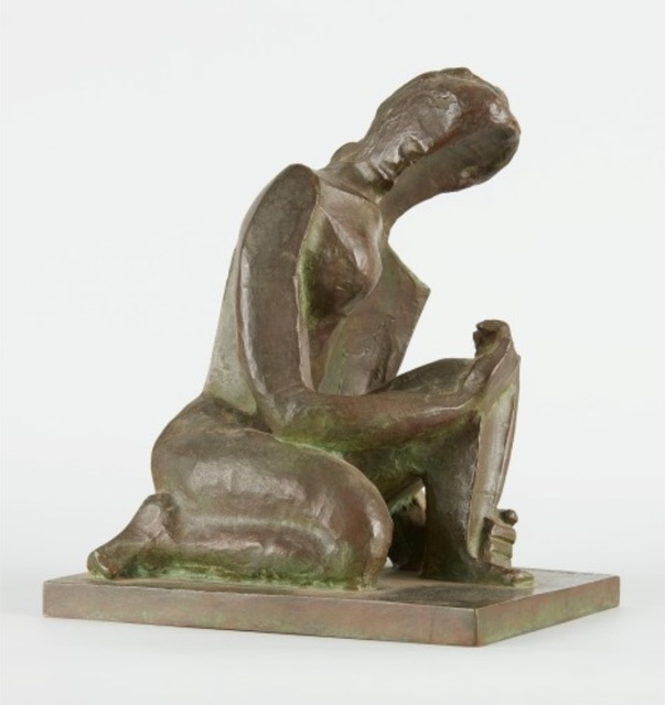 , 'Femme accroupie,' ca. 1937, BAILLY GALLERY