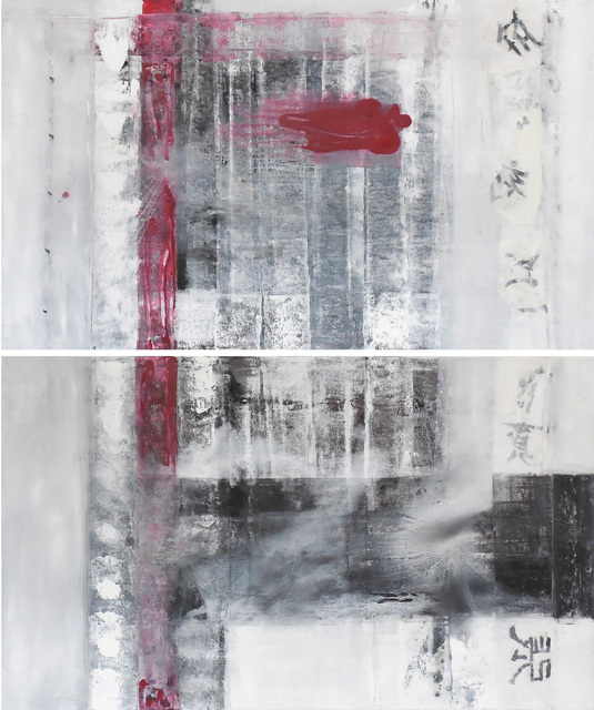 , 'Namaste III, IV,' 2017, Walter Wickiser Gallery