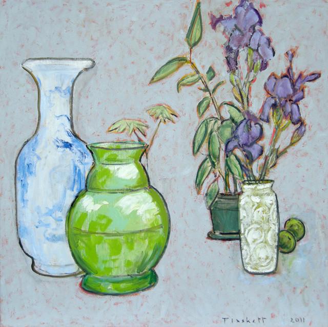, 'Still Life with Purple Irises,' , Bau-Xi Gallery