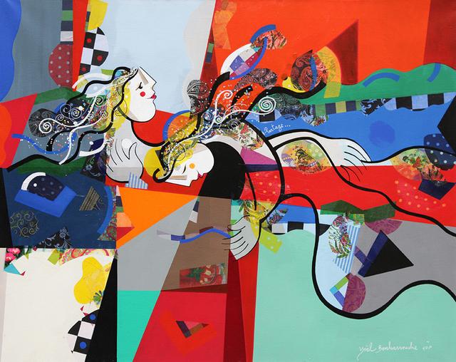 , 'Partage (Original),' 2016, Eden Fine Art