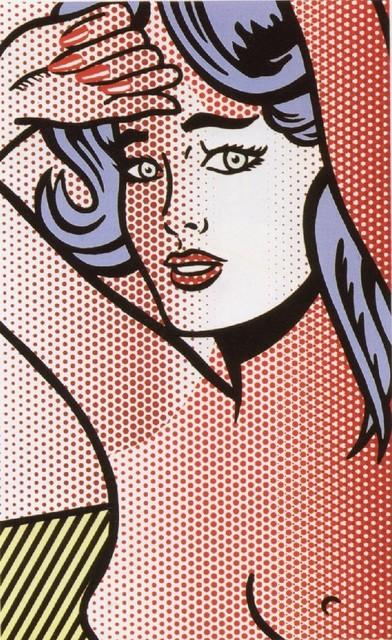Roy Lichtenstein, 'Nudes Series: Nude with Blue Hair', 1994, Coskun Fine Art