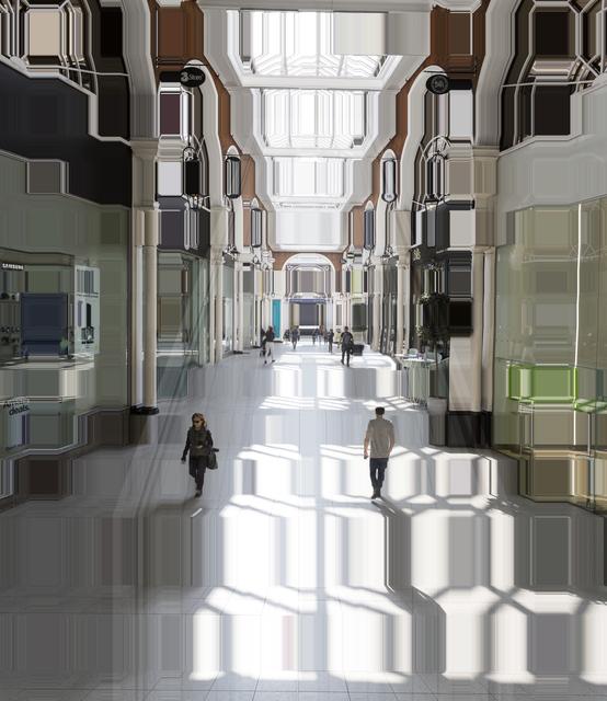 , 'High Street Kensington Station,' 2017, Winston Wächter Fine Art