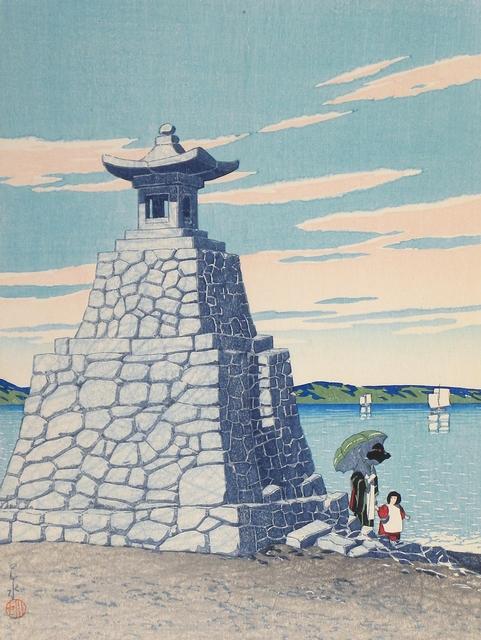 , 'Selection of Scenes from Japan: Hakozaki in Chikuzen,' ca. 1922, Scholten Japanese Art