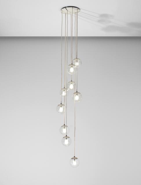 Gino Sarfatti, 'Ceiling light, model no. 2095/9', ca. 1958, Phillips