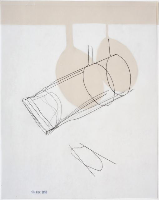 , 'Tube träumt, 18. Nov. 2017,' 2017, Galerie Heike Strelow