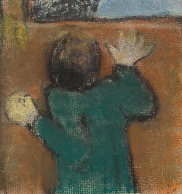 Édouard Vuillard, 'Figure at the Window,' 1891-1892, Waterhouse & Dodd