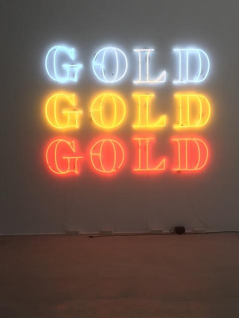 , 'GO(L)D,' 2016, Ginsberg Galería