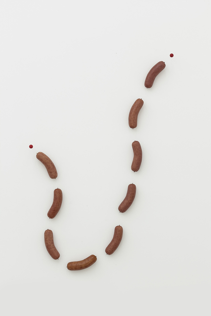 , 'Nine Segments of Sausage,' 2016, White Space Beijing