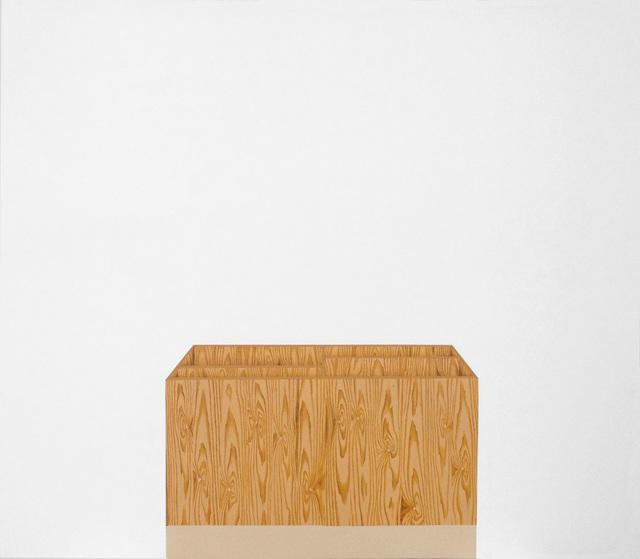 , 'Sem Título (caixa com divisórias) [Untitled (box with dividing lines)],' 2014, Casa Triângulo
