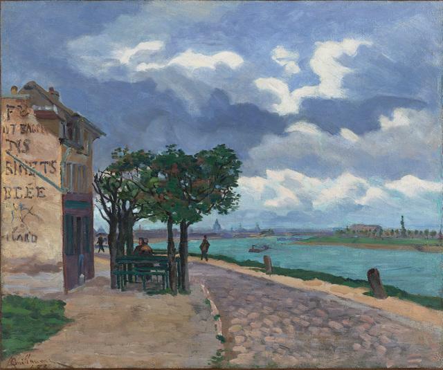 Jean Baptiste Armand Guillaumin, 'Bords de la Seine', 1873, Stoppenbach & Delestre