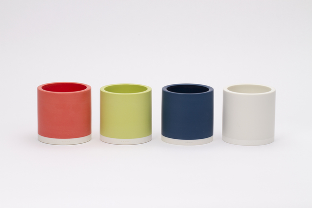 , 'Colored cylinder set,' 2015, Gallery LVS