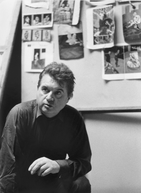 , 'Francis Bacon nel suo atelier a Londra,' 1961, Galleria Valeria Bella