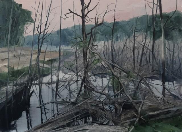 , 'Savage Pond VIII Study,' 2018, Nanda\Hobbs