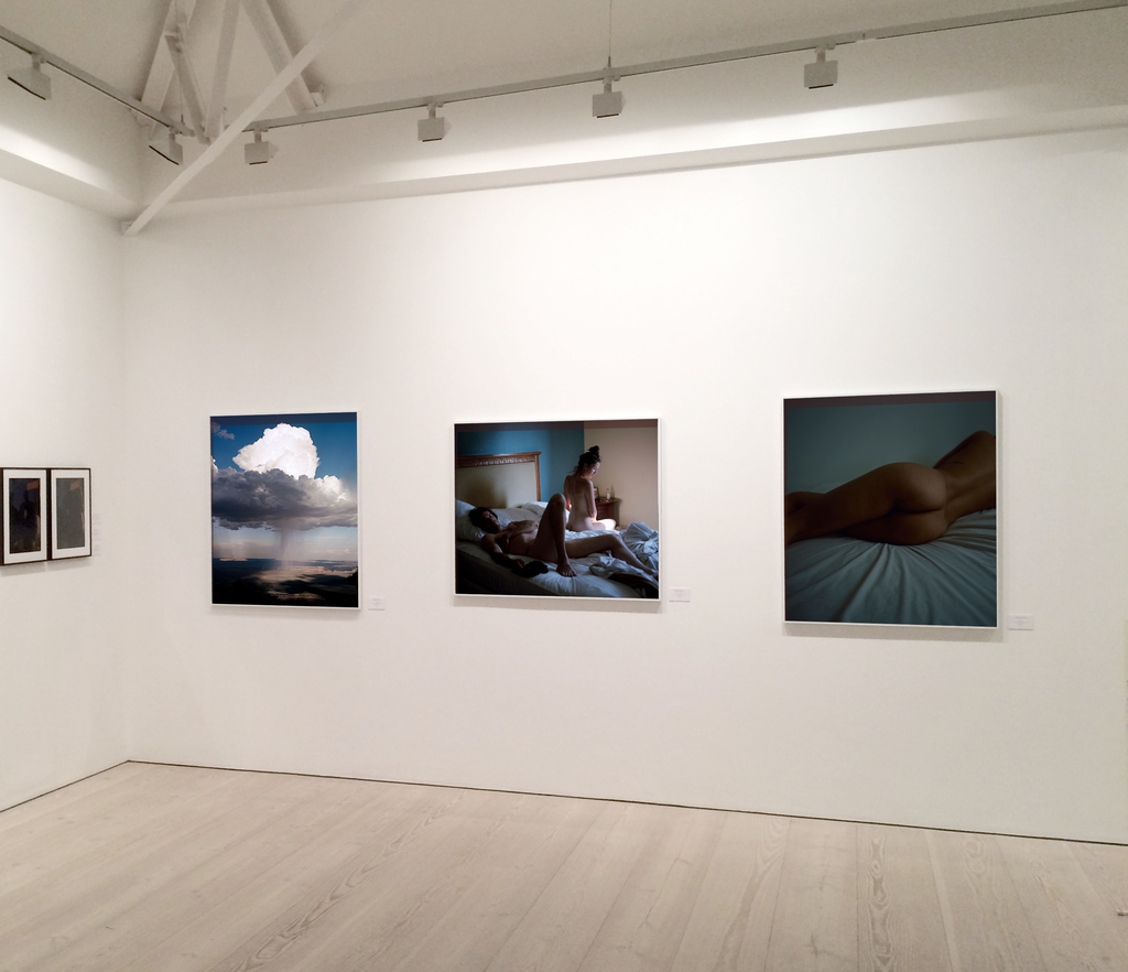Works by Berber Theunissen on display at Saatchi Gallery, 2018