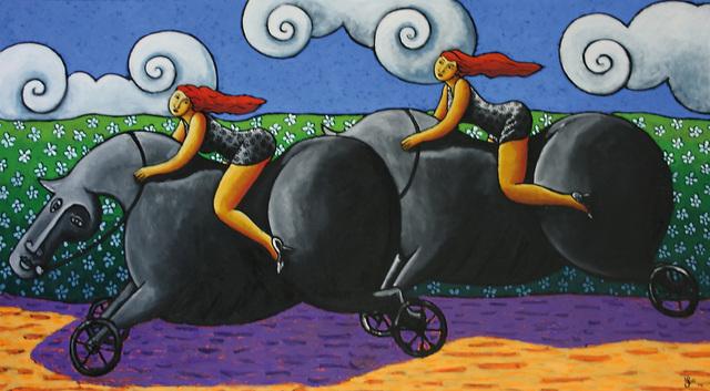 , 'Fast Ride,' 2014, Anna Laudel