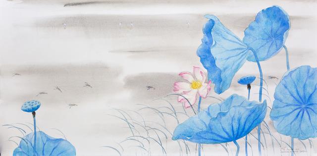 , 'Prawns & Egrets,' 2013, Gallery Espace