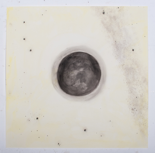 , 'Mond negativ ,' 2018, Galerie Gisela Clement