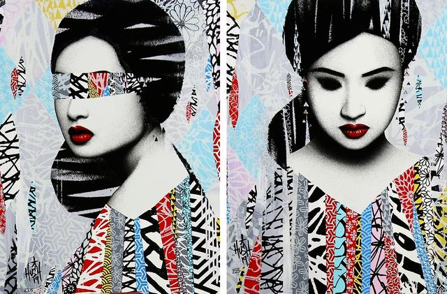 HUSH, 'Faces I/II (2 Prints)', 2019, Kumi Contemporary / Verso Contemporary