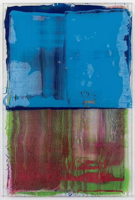 , 'Cyan Transference,' 2016, JanKossen Contemporary