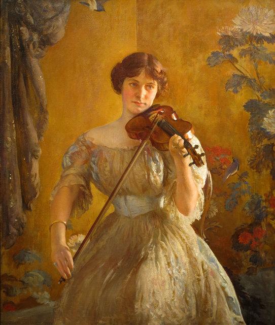 , 'The Kreutzer Sonata (Violinist II) ,' 1912, Vose Galleries