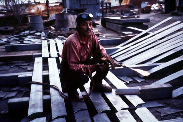 , 'Shipyard welder, Ensenada,' 1996, Galeria Filomena Soares